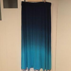 Lane Bryant Maxi Skirt, Elastic Waist, NWT, 18/20